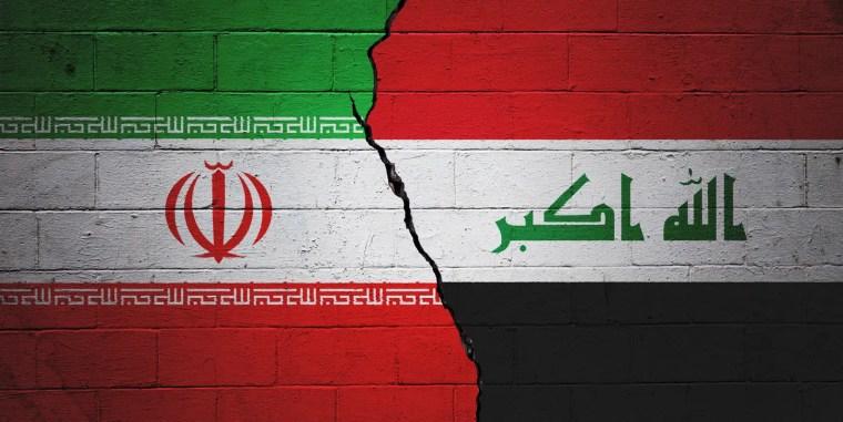 علم العراق وإيران
