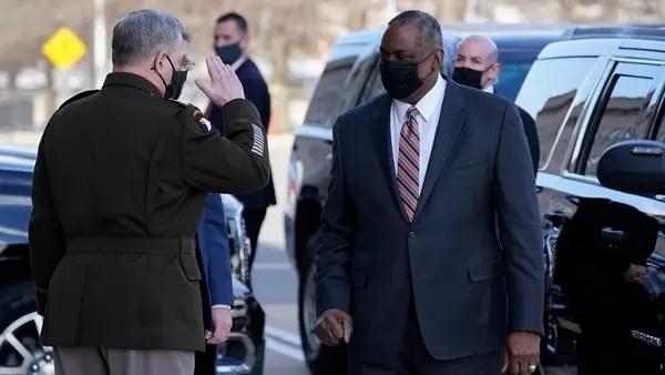 Lloyd Austin becomes the first Black US defense secretary | Al Arabiya  English