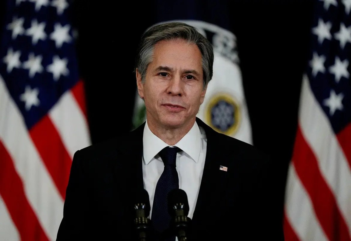 US Secretary of State Antony Blinken speaks to the press, Feb. 4, 2021, at the State Department. (File photo: Reuters)