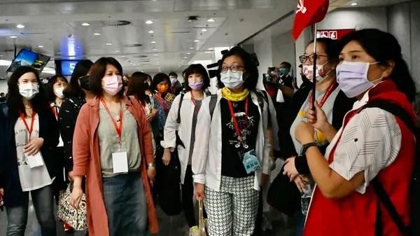Diplomatic allies Taiwan and Palau begin COVID-19 travel bubble   Al Arabiya English