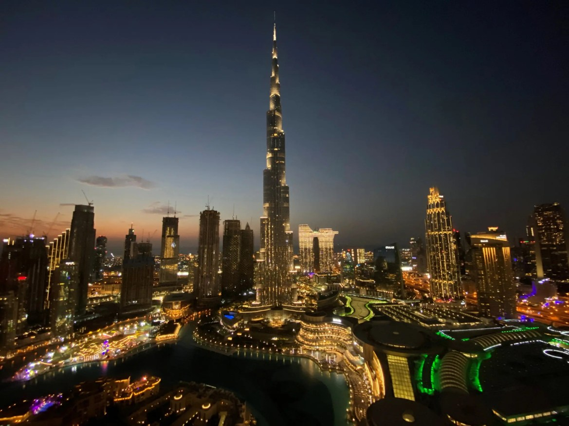 A general view shows Burj Khalifa, the tallest building in the world, in Dubai, United Arab Emirates, December 31, 2020. (File photo: Reuters)