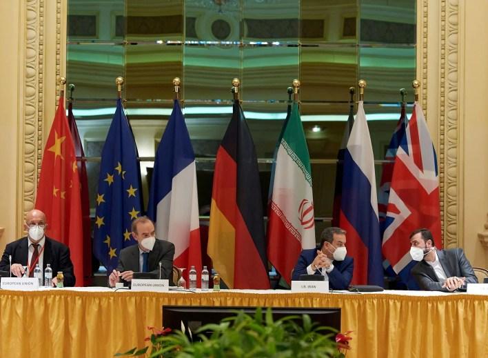 اجتماع اللجنة المشتركة لخطة العمل المشتركة الشاملة في فيينا (رويترز)