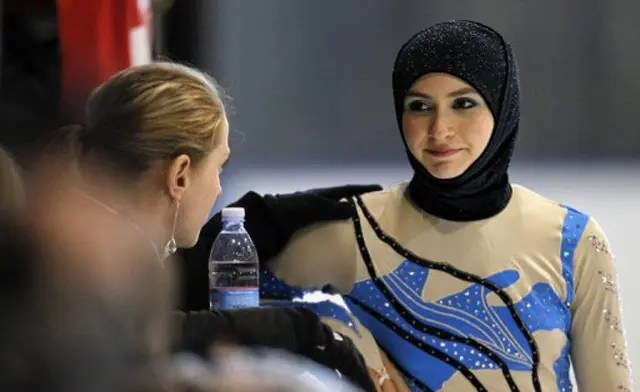 Without my hijab i won't be zahra lari, she told me. Zahra Lari The Ice Princess In The Hijab