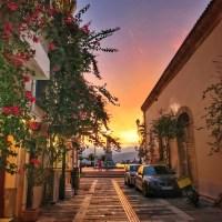 Nafplio old city downtown