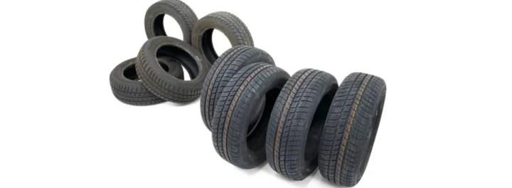 Neumáticos reciclados para fabricar balizas separadoras