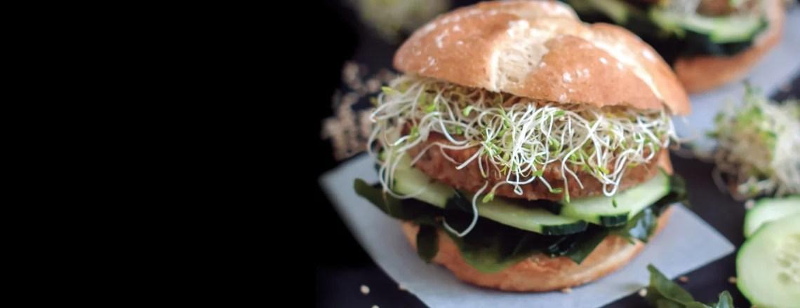 FAST GOOD: Hamburguesas veganas para gourmets