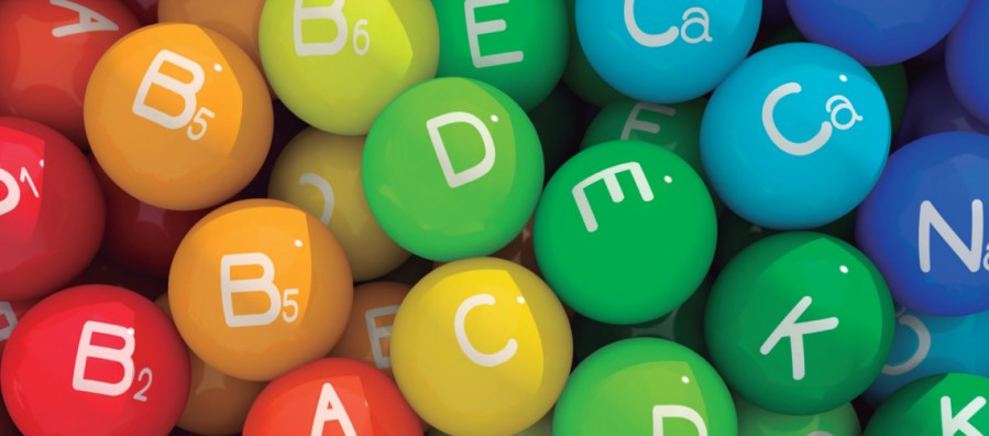 vitaminas y minerales indispensables