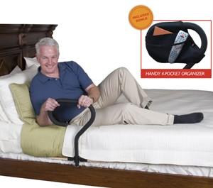 Soporte estilo bastn para cama con organizador  Vida Abuelo