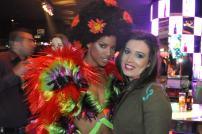 Julia Llop en Pacha Flower Power Party