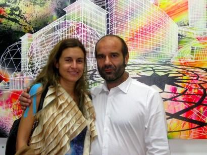 Gaelle Collet y Guillermo Lopez