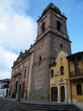 Die Kathedrale von Tunja.