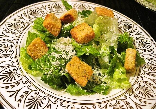Por una ensalada: la Caesar