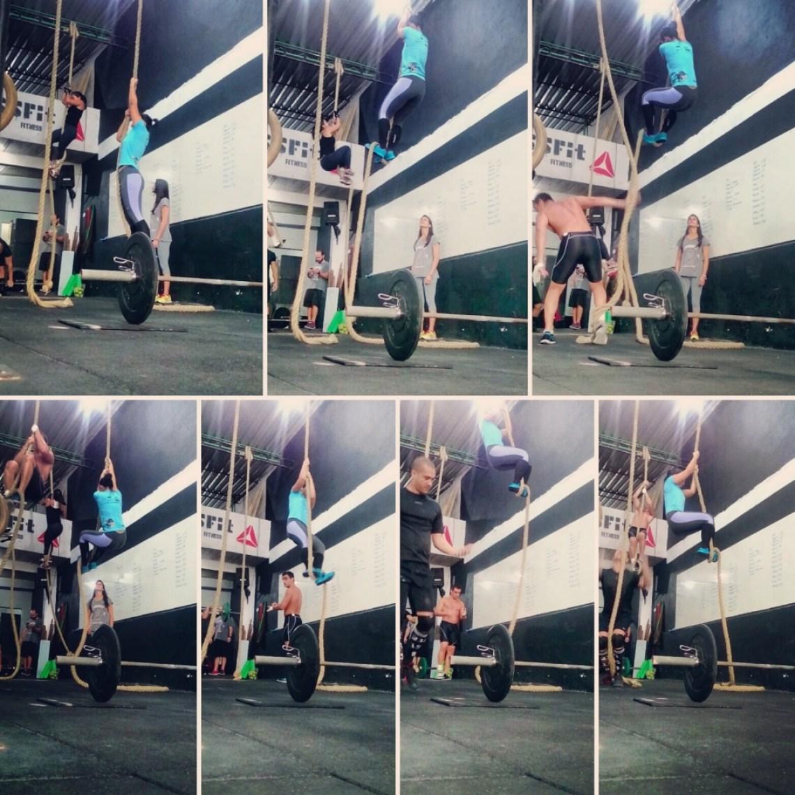 Rope-climb