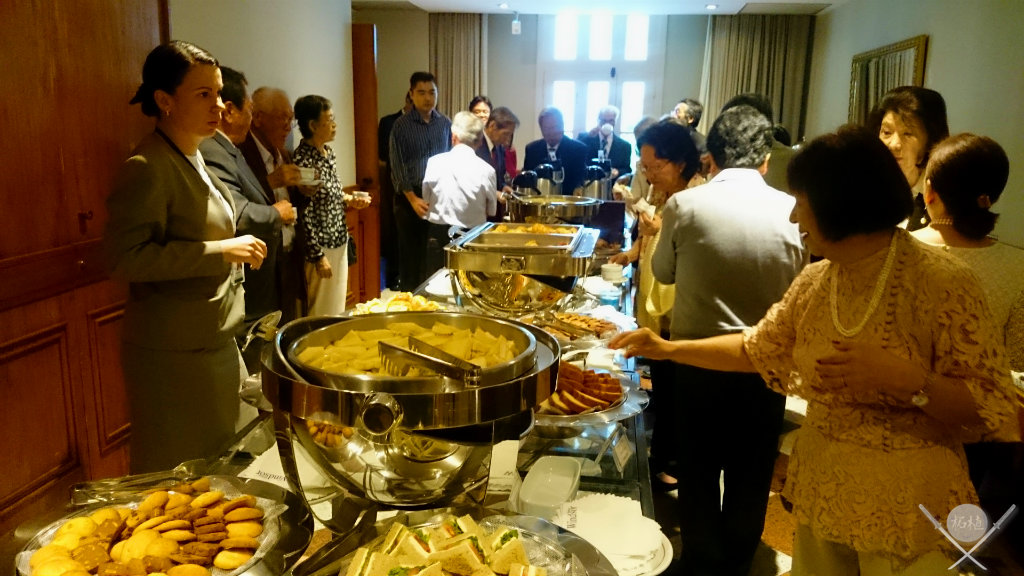 Coffee Break do evento com premie japones