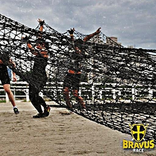 Corrida de Obstáculos - Bravus teia de aranha