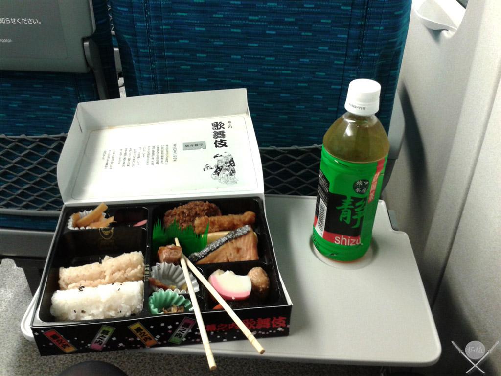 Bento no shinkansen