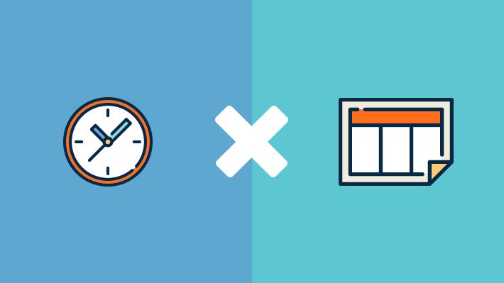 procrastinação 3 relógio x calendário