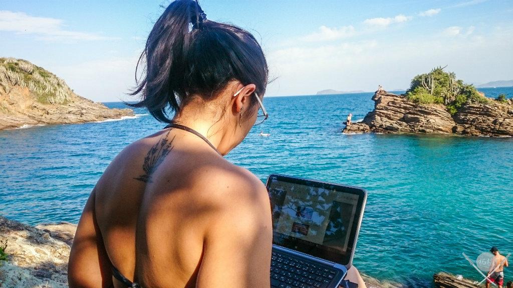 Viver de blog - Nomadismo digital Buzios