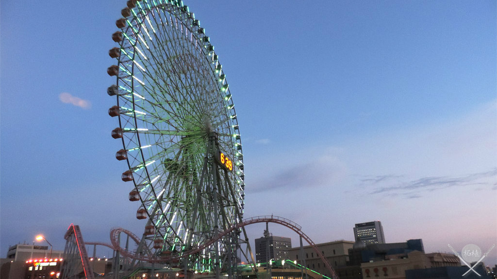 yokohama - cosmo world clock 21