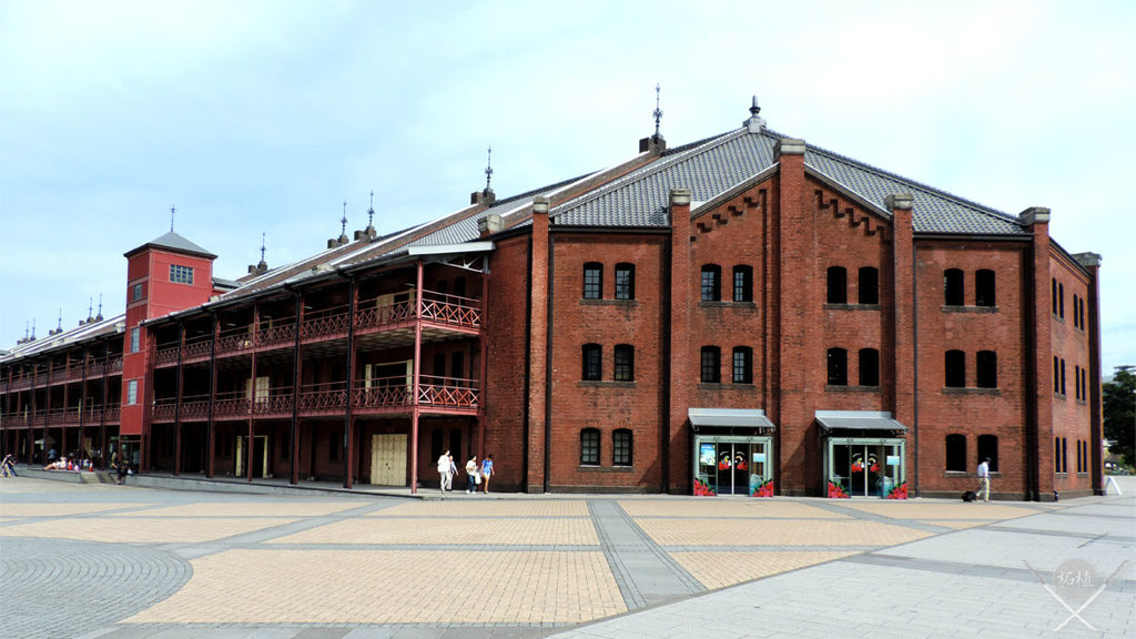 yokohama - red brick warehouse