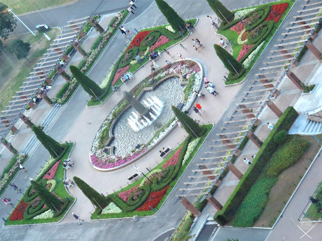 yokohama - yamashita park vista do marine tower