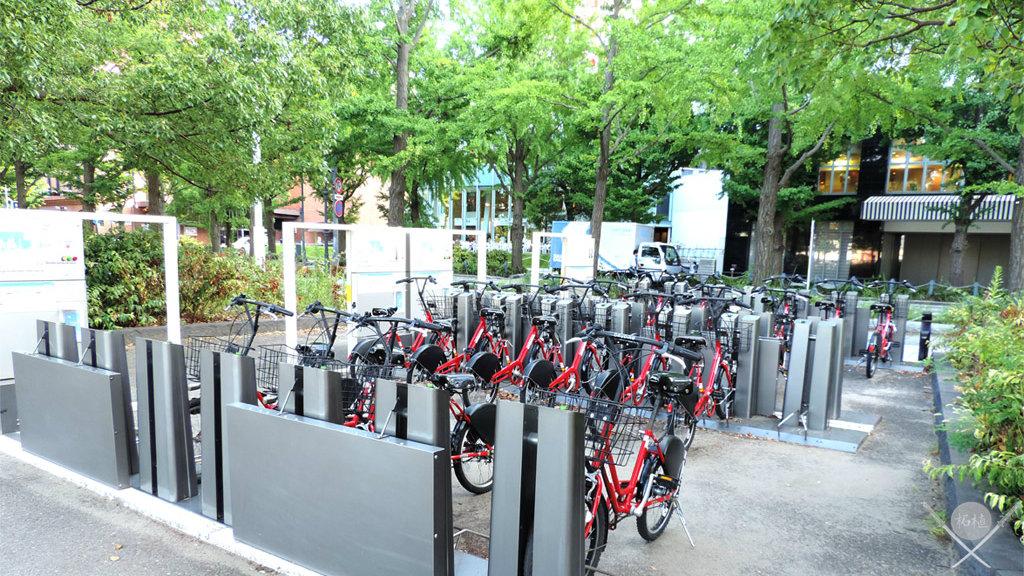 yokohama - yamashita park bicicletario