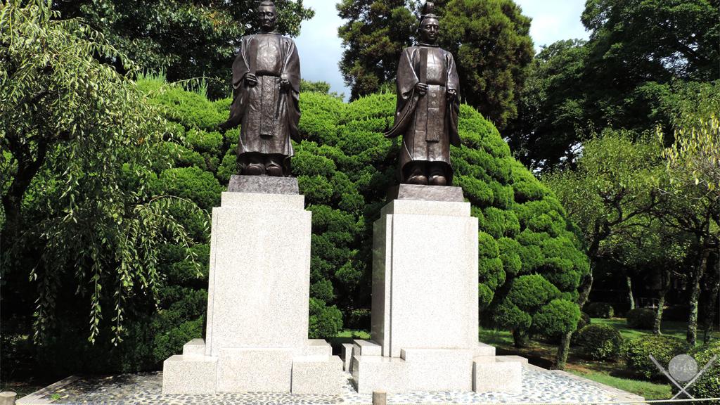 kumamoto - suizenji samurais