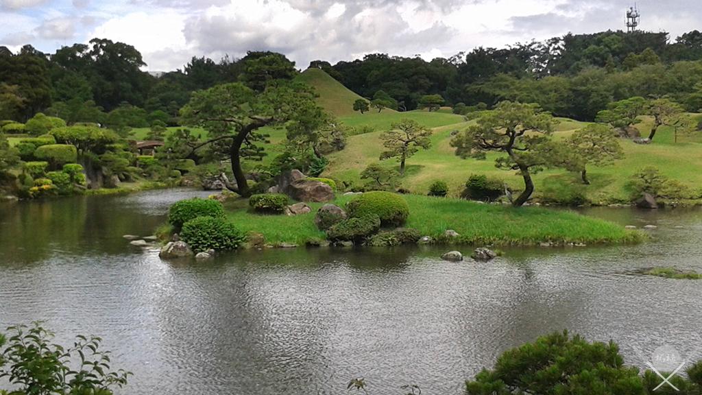 kamamoto - suizenji lago