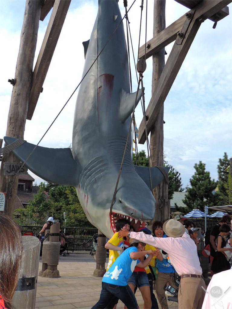 osaka - universal studios shark