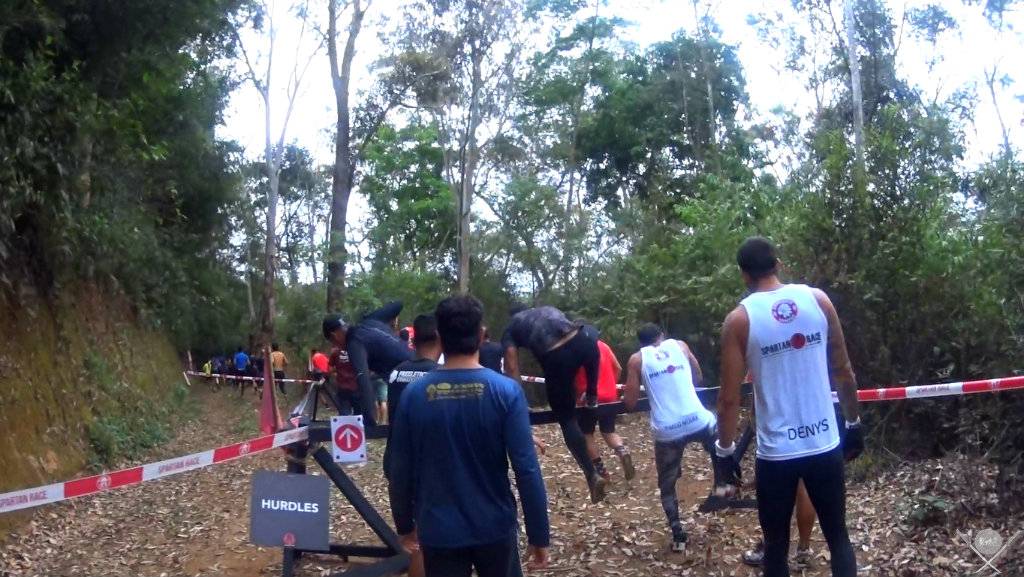 corrida spartan race - hurdles