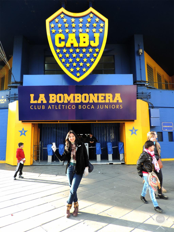 Buenos Aires - La bombonera Tsuge