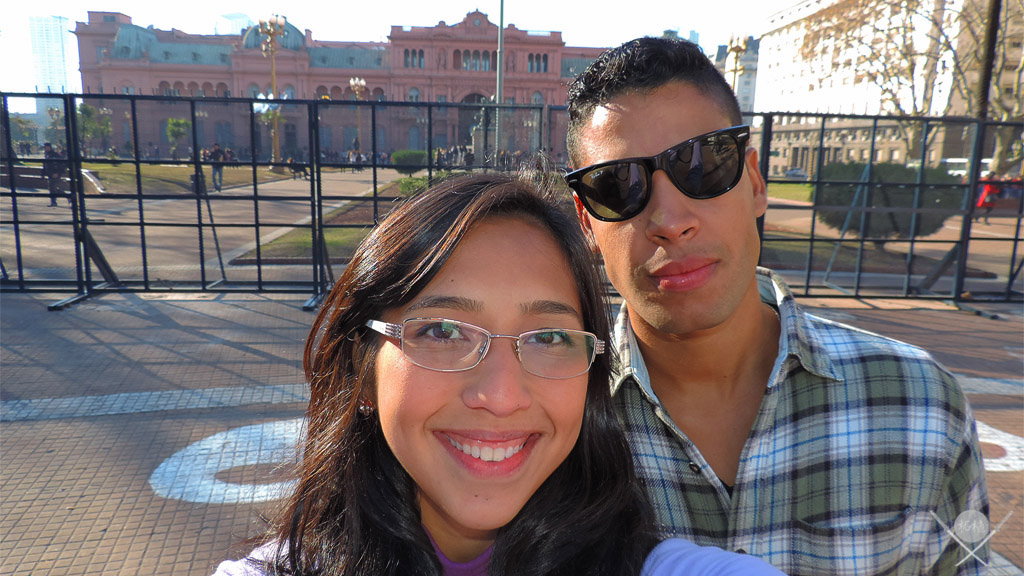 Buenos Aires - Plaza de mayo nos