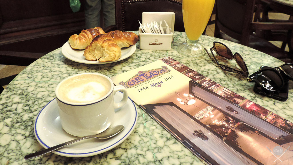 Buenos Aires - cafe Tortoni - cafe