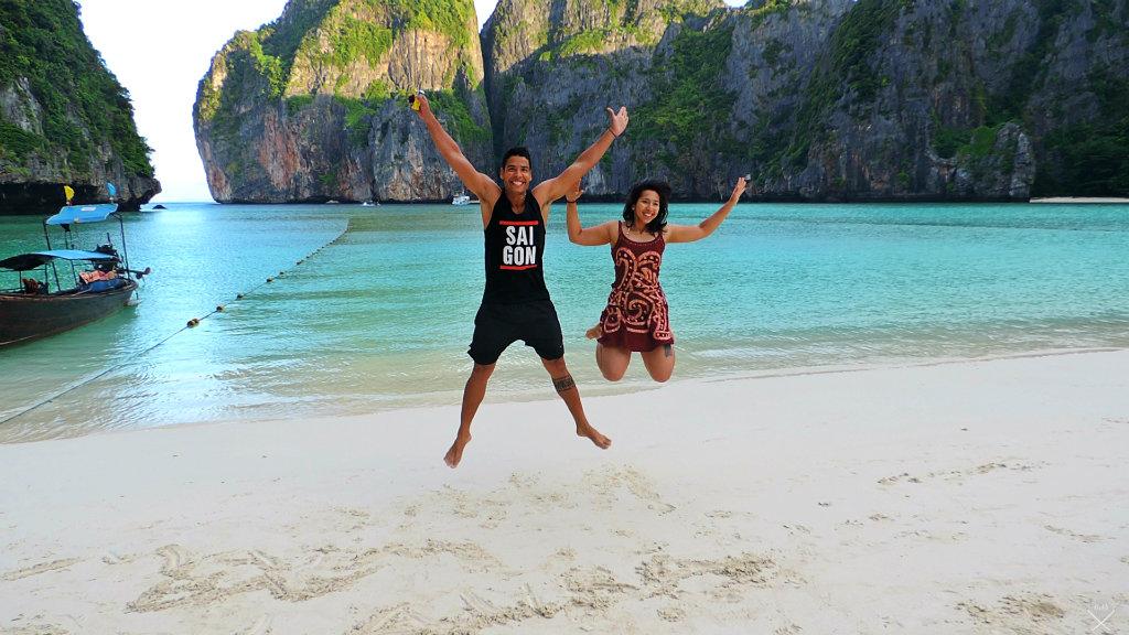 Thailand - Koh Phi Phi - Augusto e Marina Maya Bay - Vida de Tsuge - VDT - 1024x576