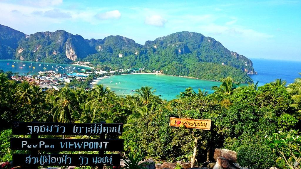 Thailand - Koh Phi Phi - View Point - Vida de Tsuge - VDT - 1024x576