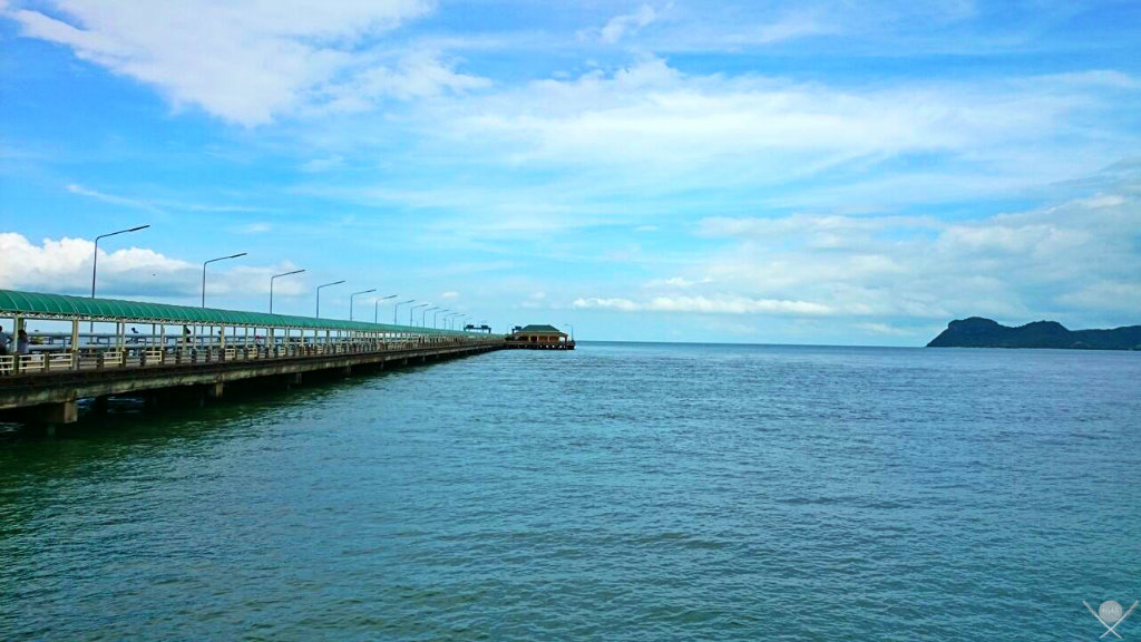 Thailand - Koh Phangan - Pier - Viagens - Vida de Tsuge - VDT