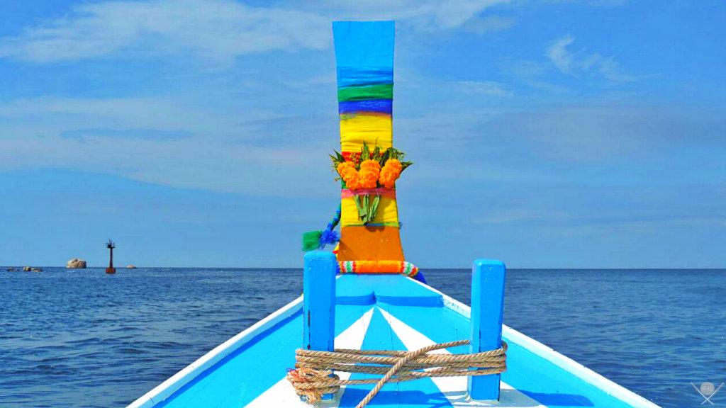 Thailand - Koh Tao - Barco - Viagens - Vida de Tsuge - VDT
