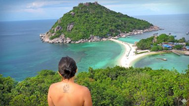 Thailand - Koh Tao - Beach Marina - Viagens - Vida de Tsuge - VDT