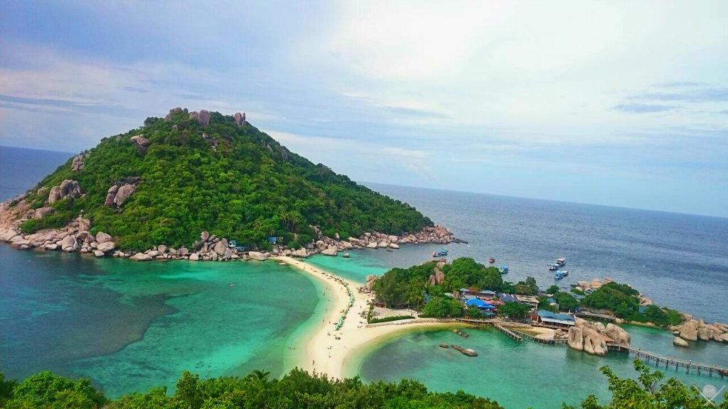 Thailand - Koh Tao - Koh Nang Yuan Beach - Viagens - Vida de Tsuge - VDT