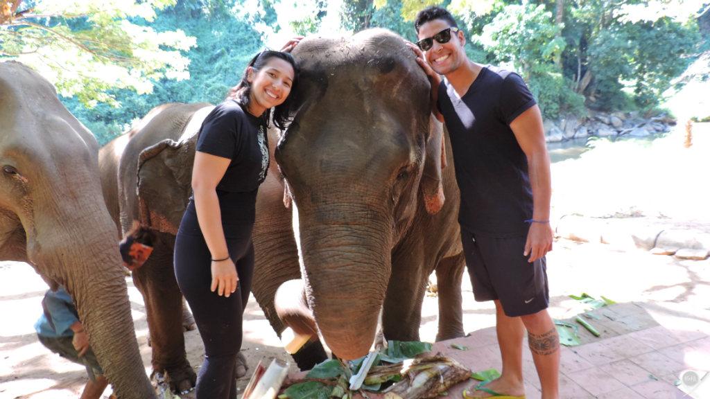 Thailand - Chiang Mai - Elephant Trekking Care 1 - Viagens - Vida de Tsuge - VDT