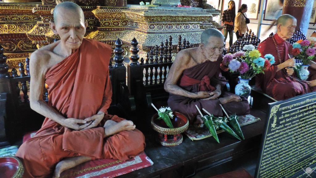 Thailand - Chiang Mai - Monge Réplica - Viagens - Vida de Tsuge - VDT