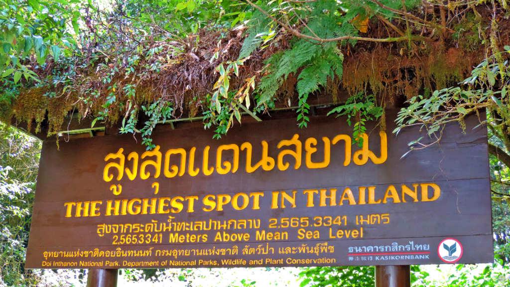Thailand - Chiang Mai - Placa 2 Doi Inthanon 3 - Viagens - Vida de Tsuge - VDT