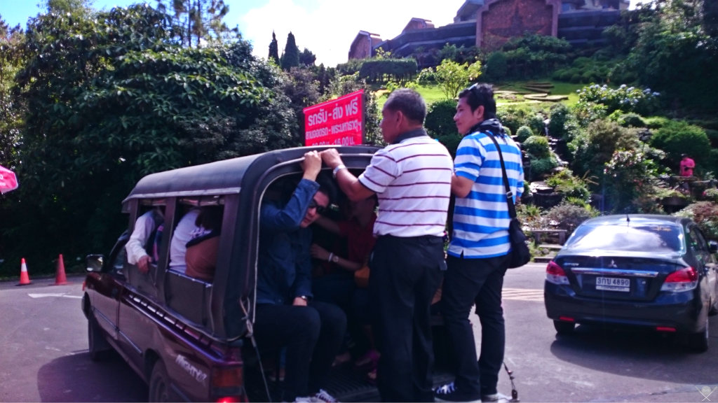 Thailand - Chiang Mai - Songthaew 2 - Viagens - Vida de Tsuge - VDT