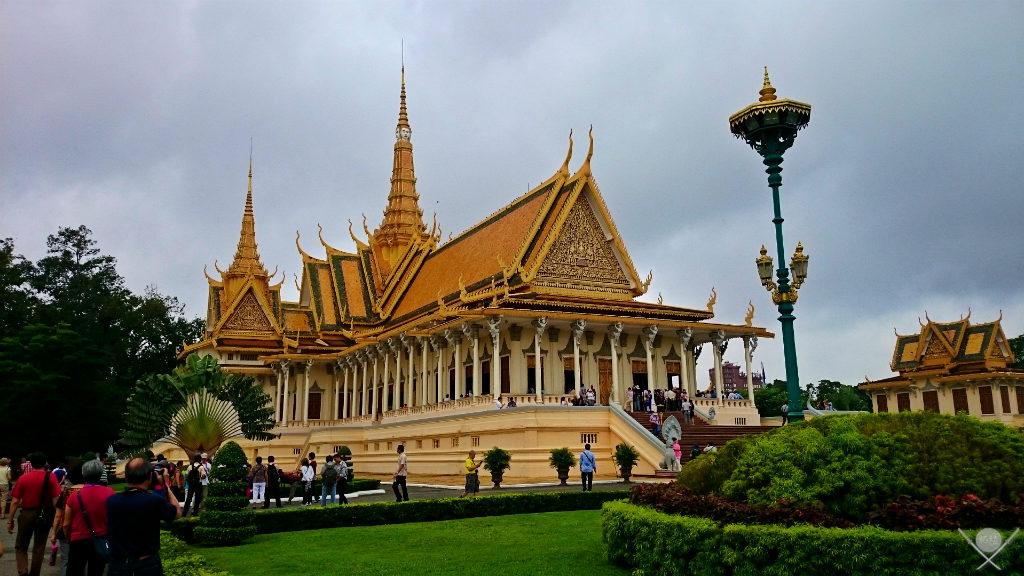Camboja - Royal Palace Phnom Penh 1 - Viagem - Vida de Tsuge - VDT