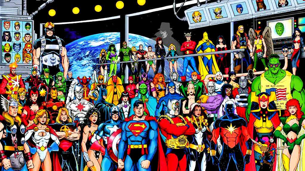 Anime - Heróis 1 Dc Comics and Marvel Comics - Next Stop - Japão - Sabedoria Oriental - Vida de Tsuge - VDT