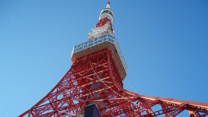 Tokyo tower - Primavera no Japão - Vida de Tsuge