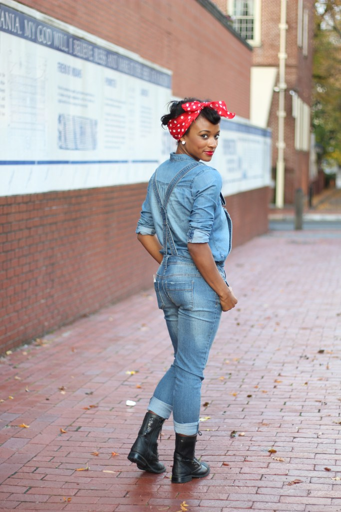 DIY Rosie the Riveter