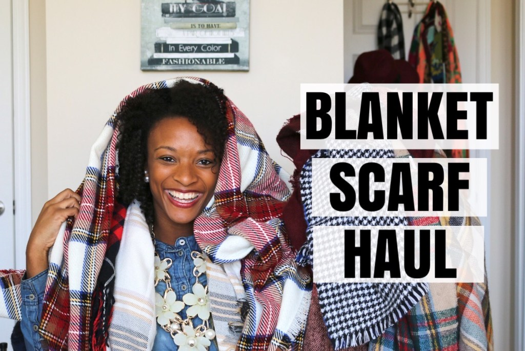 Video: Blanket Scarf Haul