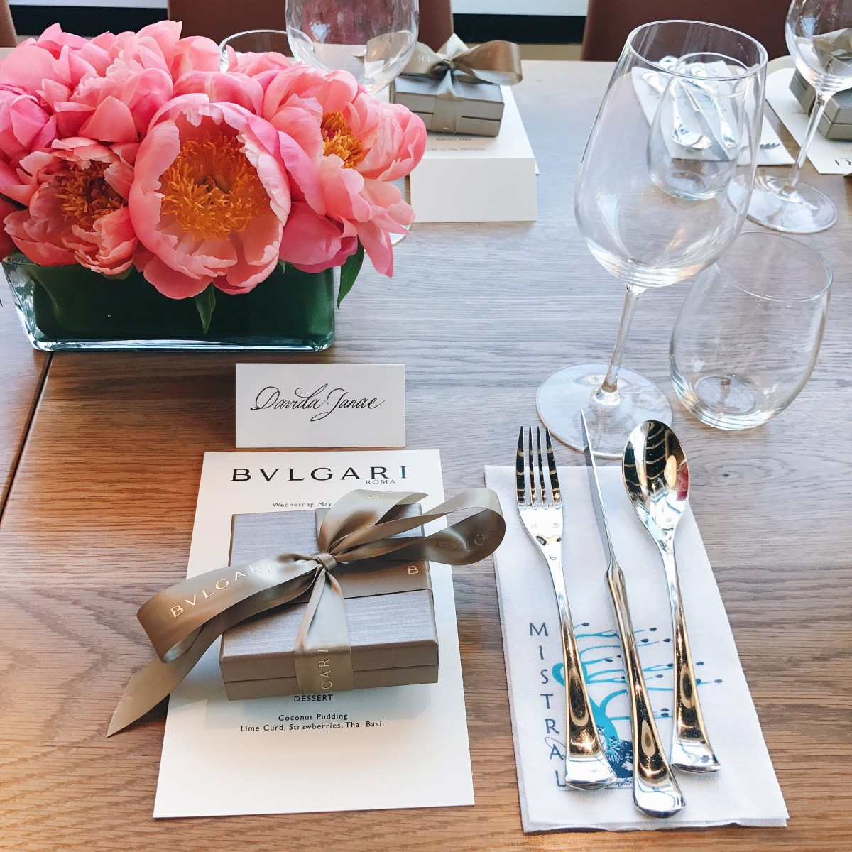 Bvlgari Luncheon