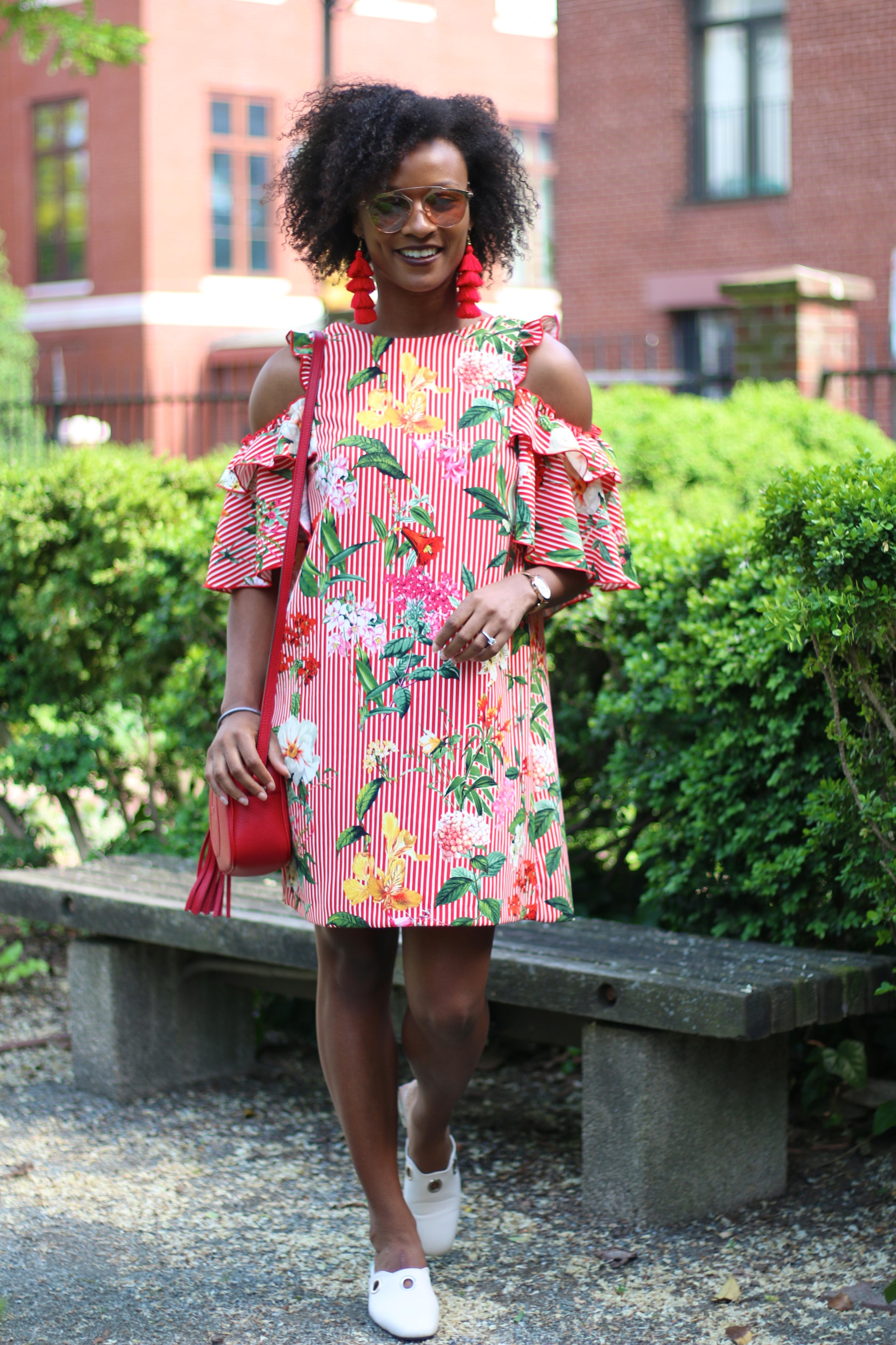 Zara Ruffle Dress